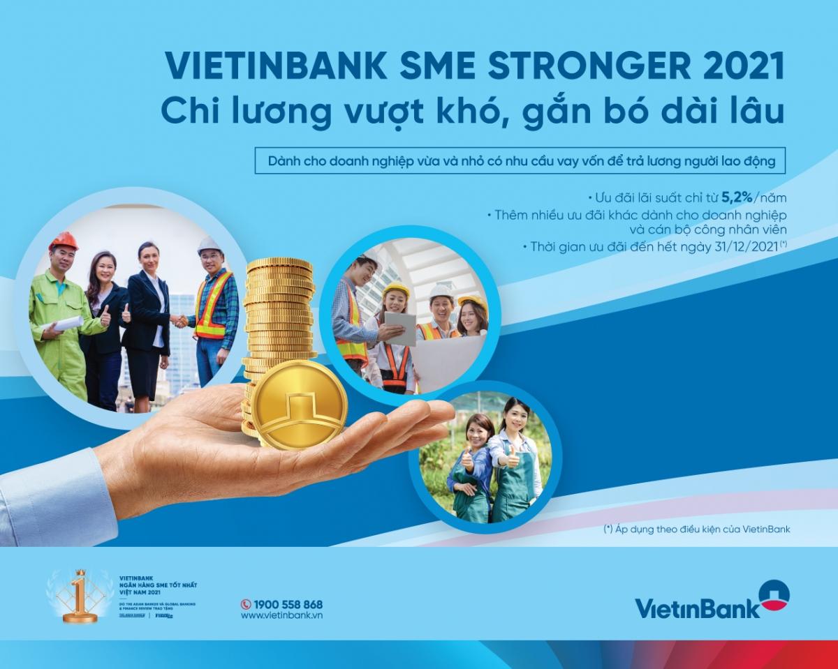 Thông qua Chương trình này, VietinBank mong muốn đồng hành cùng doanh nghiệp vượt qua đại dịch, ổn định phát triển kinh tế.