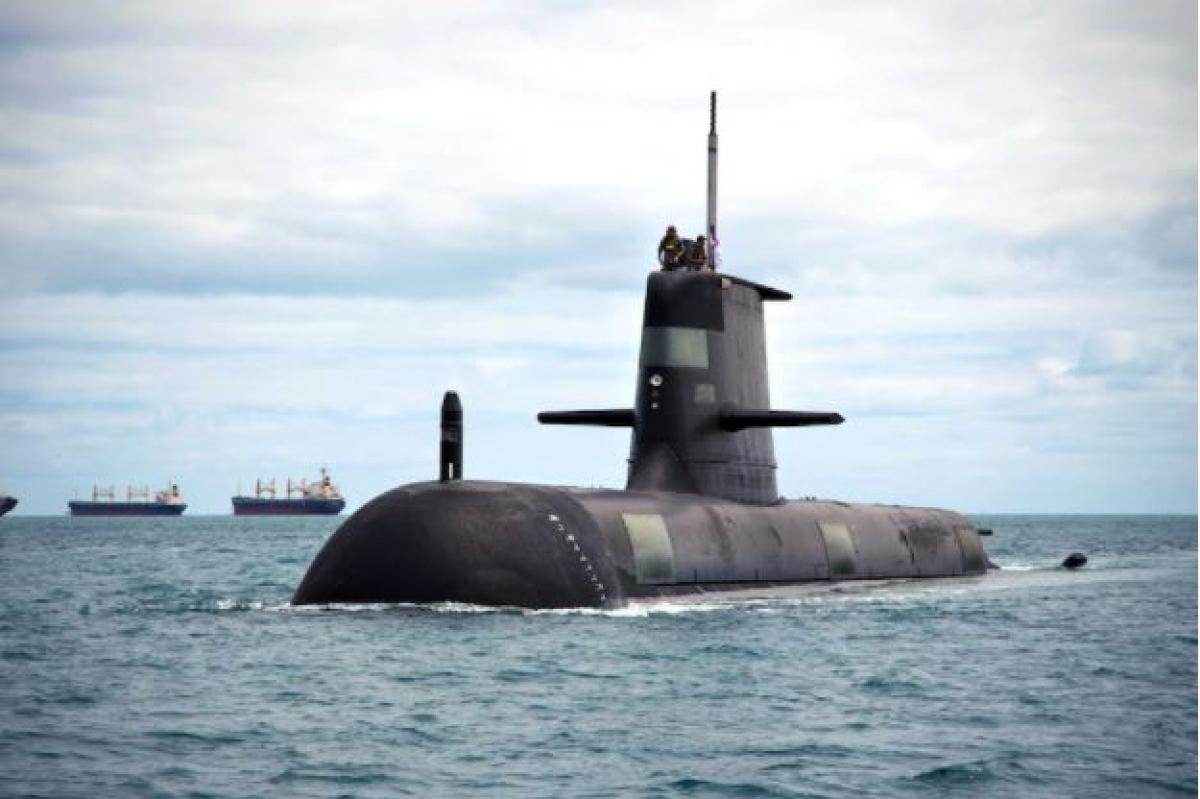 Australia hủy thỏa thuận mua 12 tàu ngầm với Pháp sau khi được Mỹ và Anh cam kết hỗ trợ chế tạo tàu ngầm năng lượng nguyên tử. Nguồn: Hải quân Australia.