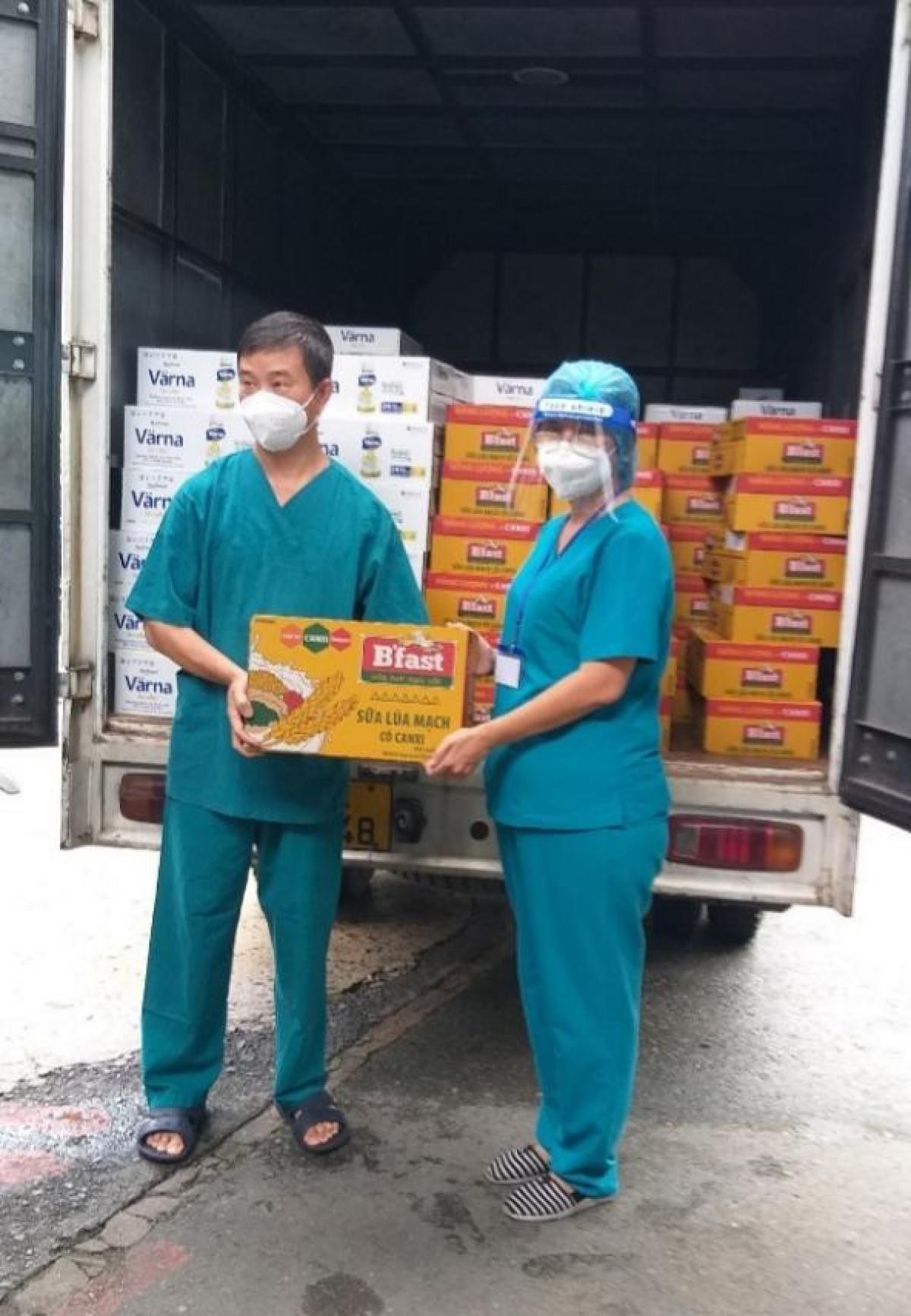150.000 hộp_chai sữa sẽ được Tập đoàn Masan trao tặng đến bệnh nhân Covid-19 tại 16 bệnh viện trên địa bàn TP.HCM.