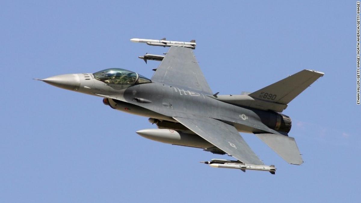 Tiêm kích F-16 chặn một chiếc Cessna 182 do vi phạm hạn chế cấm bay tạm thời trong thời gian diễn ra phiên họpĐại hội đồng Liên Hợp Quốc. Ảnh minh họa: CNN