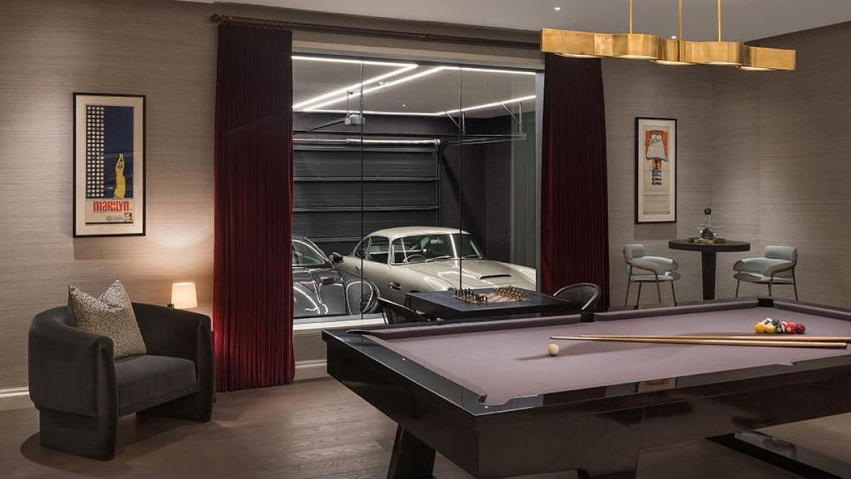 """Căn hộ """"007"""" lấy cảm hứng từ các bộ phim về mật vụ James Bond."""
