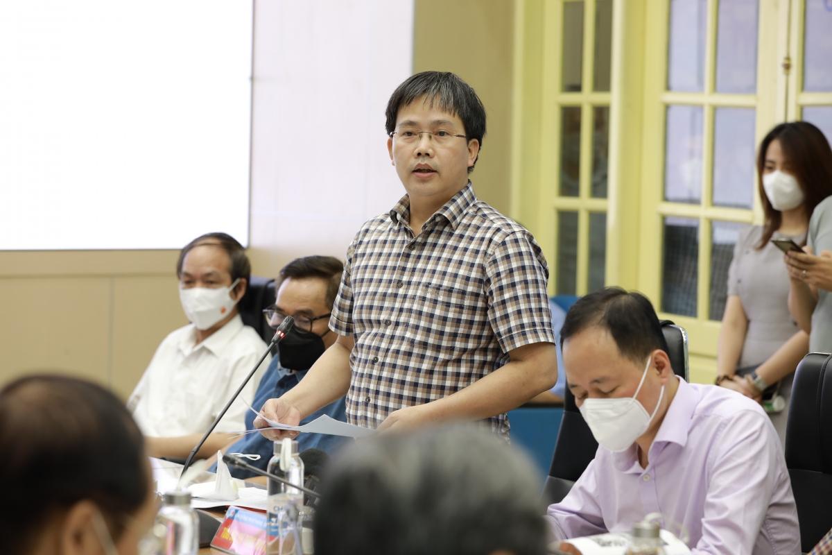 Ông Mai Văn Khiêm - Giám đốc Trung tâm Dự báo khí tượng thủy văn Quốc gia.