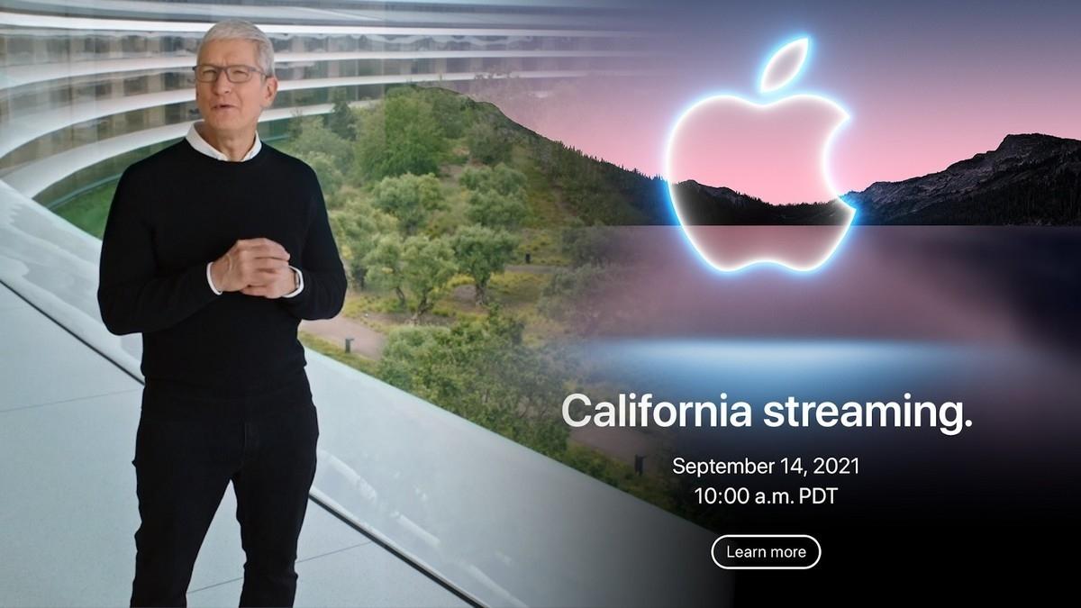 Sự kiện của Apple bắt đầu vào 10h00 sáng giờ PDT ngày 14/9, tức 0h00 đêm ngày 15/9 theo giờ Việt Nam