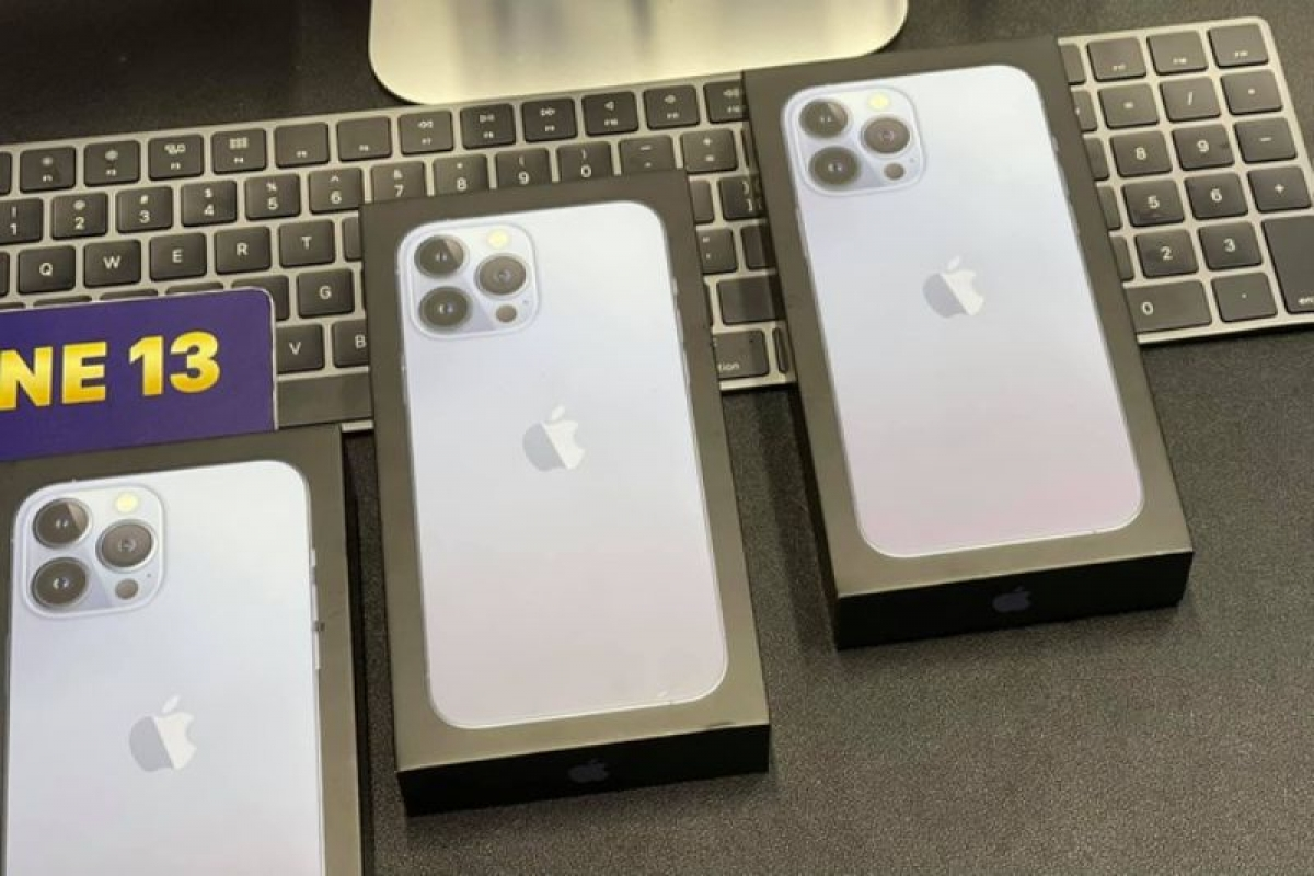 iPhone 13 series đã bắt đầu lên kệ từ thứ 6 tuần trước
