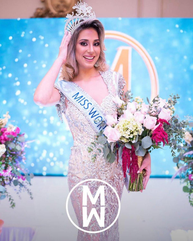 Michelle Calderon vừa được bổ nhiệm trở thành Hoa hậu Thế giới Guatemala 2021.