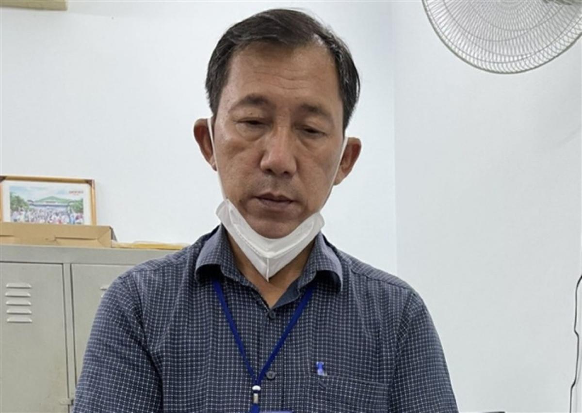 Bị can Huỳnh Hồng Sơn.