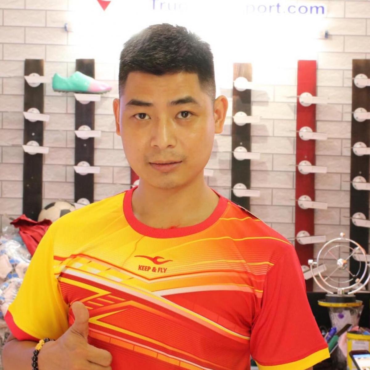 Anh Mai Ngọc Thức – người kinh doanh thời trang thể thao thành công với thương hiệu Trường An Sport.