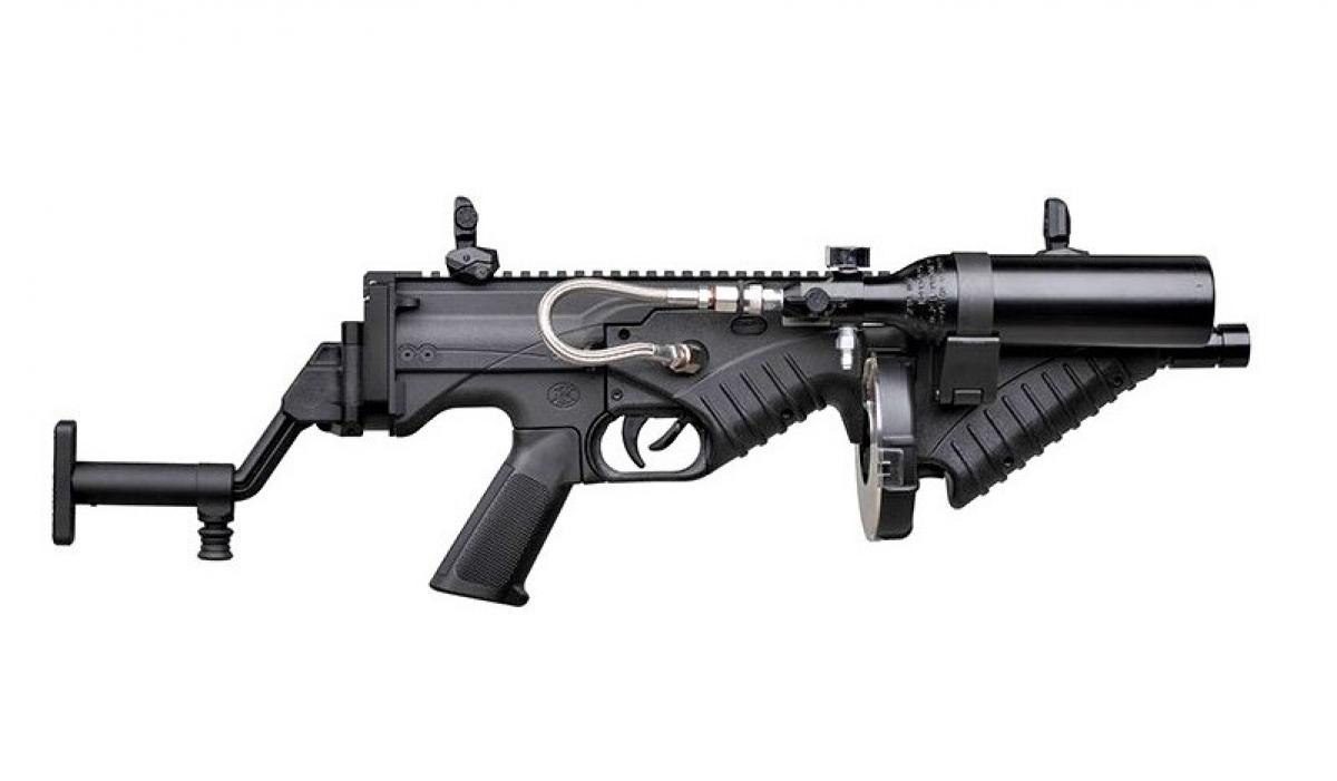 Súng FN 303 mô-đun mới dùng chống bạo loạn; Nguồn: militaryleak.com