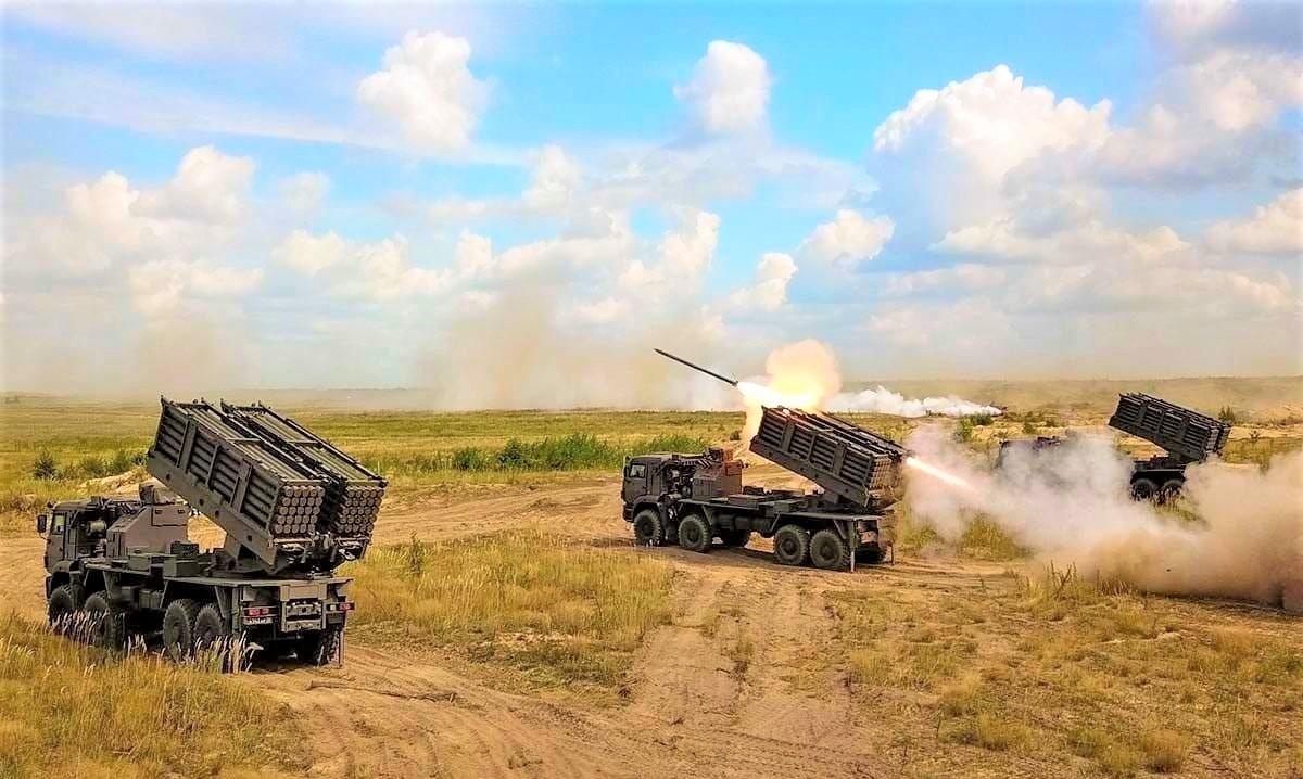 Hệ thống rải mìn từ xa Zemledeliye của Quân đội Nga đã chứng tỏ hiệu suất tuyệt vời; Nguồn: Military Leak