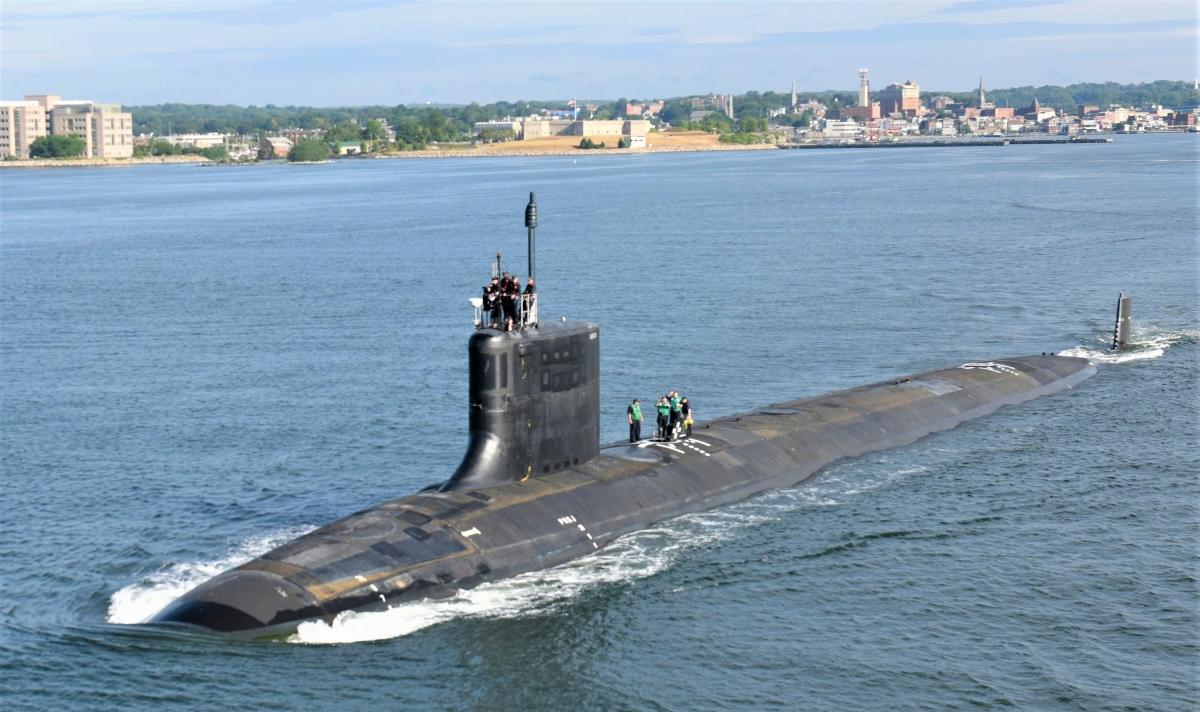 Tàu ngầm lớp Virginia (Mỹ). Nguồn: news.usni.org