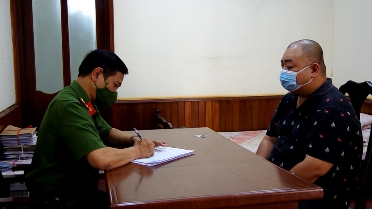 Triệt phá đường dây cá độ bóng đá giao dịch trên 200 tỉ đồng tại Hà Giang.Ảnh:Công an tỉnh Hà Giang