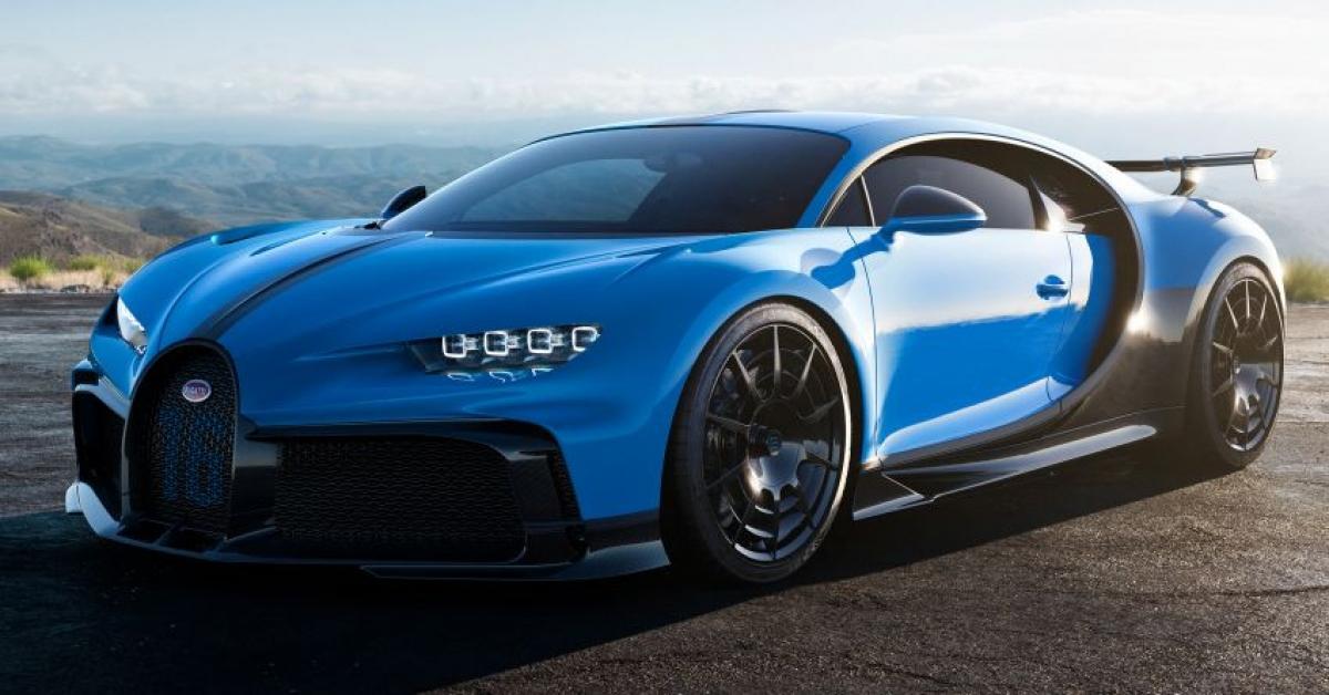 Sơn lại Bugatti Chiron Pur Sport tốn 1,26 tỷ đồng.