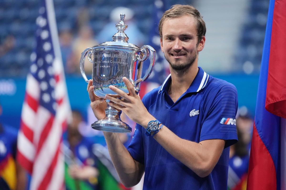 Medvedev đăng quang ở US Open (Ảnh: Reuters).