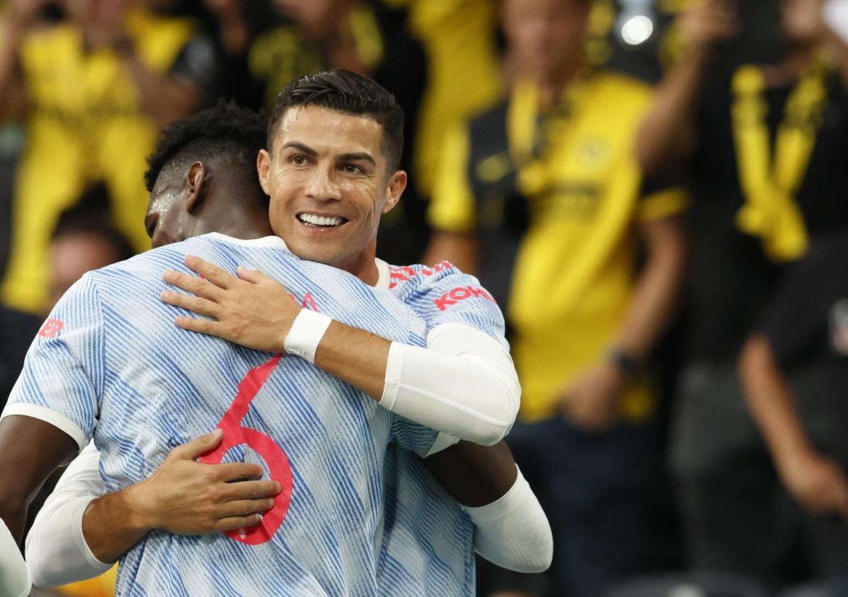 Ronaldo ghi bàn, nhưng MU thua ngược Young Boys (Ảnh: Reuters).