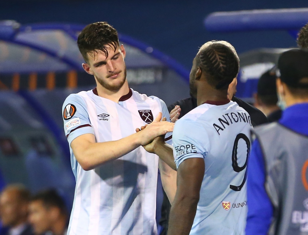 West Ham đã chơi rất hay trước Dinamo Zagreb (Ảnh: Reuters).