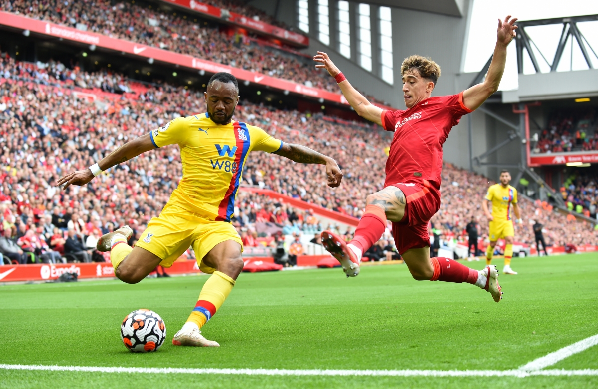 Crystal Palace đang chơi đôi công cùng Liverpool. (Ảnh: Reuters).
