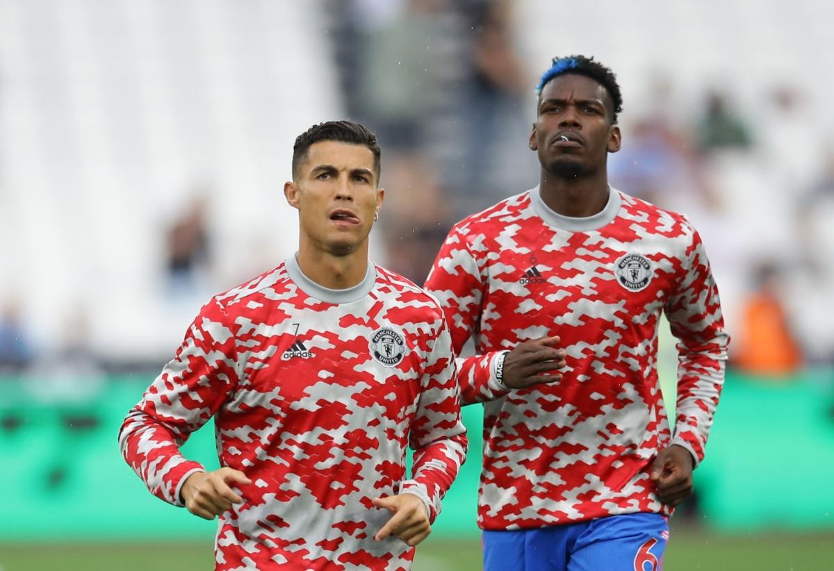 """Pogba cùng Bruno sẽ """"tiếp đạn"""" cho Ronaldo. (Ảnh: Reuters)."""