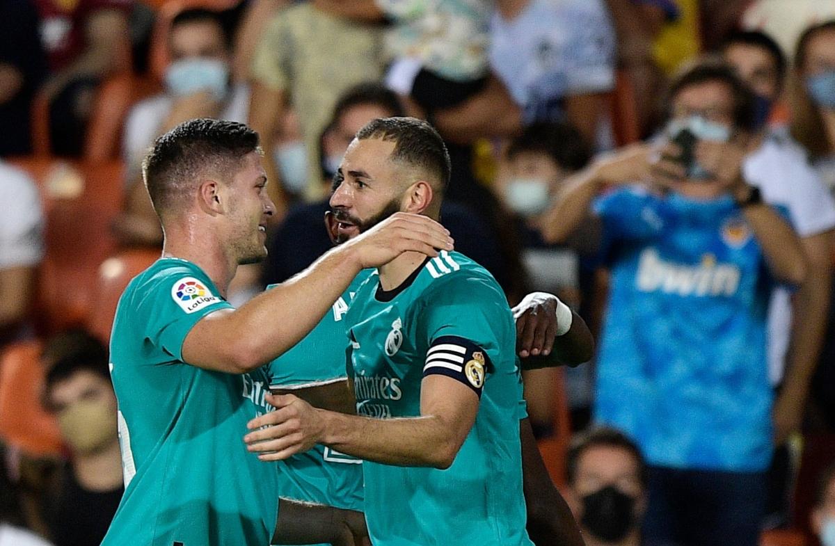 Real Madrid ngược dòng thần thánh trước Valencia (Ảnh: Reuters).