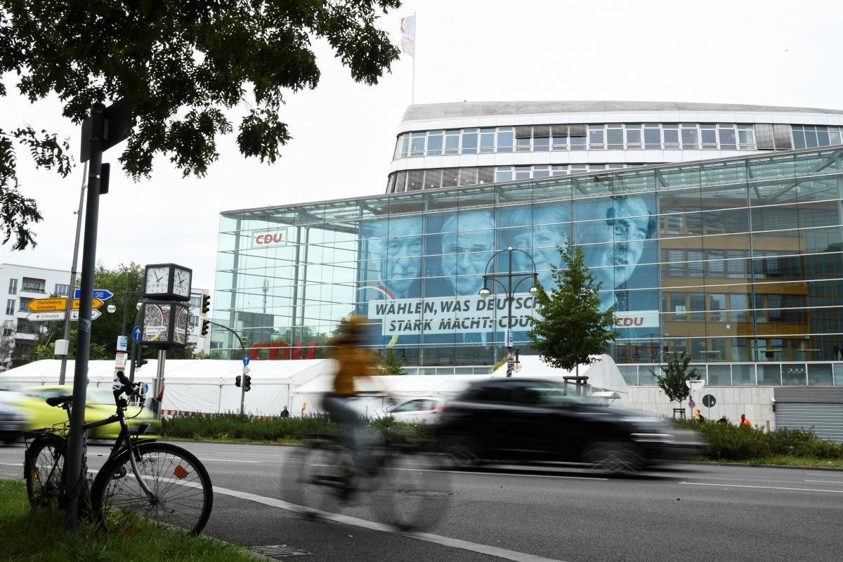 Cổ động bầu cử tại Berlin, Đức. Nguồn: Reuters.