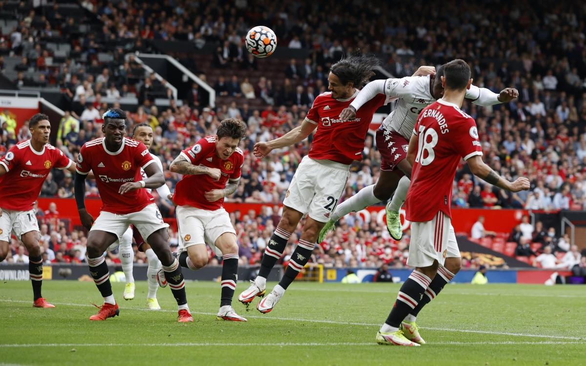 Aston Villa vượt lên dẫn trước. (Ảnh: Reuters)