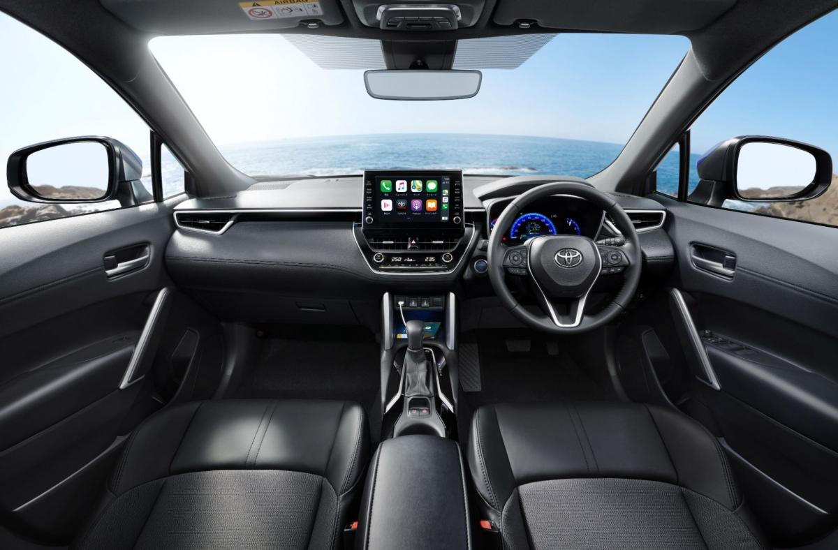 Nội thất của Toyota Corolla Cross cho Nhật Bản.