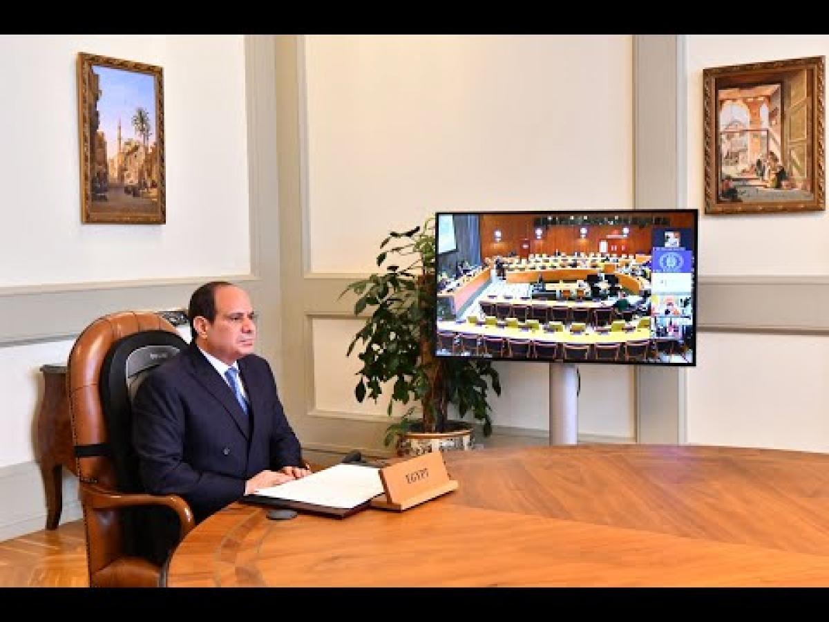 Tổng thống Ai Cập kêu gọi hạn chế xây dựng đập thủy điện trên các dòng sông quốc tế - (Ảnh: elbalad)