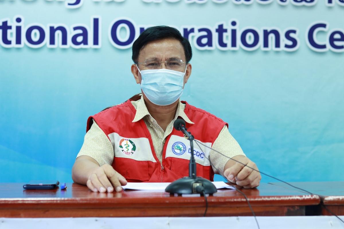 Ông Rattanaxay Phetsouvanh, Cục trưởng Cục kiểm soát bệnh truyền nhiễm, Bộ Y tế Lào