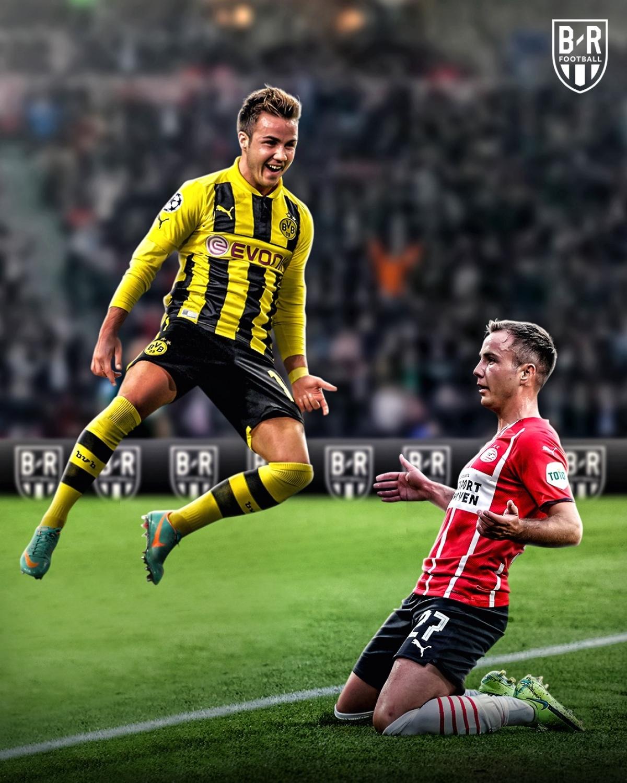 Mario Gotze tìm lại phong độ đỉnh cao ở PSV Eindhoven. (Ảnh: Bleacher Reports)