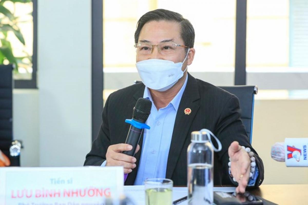 TS Lưu Bình Nhưỡng. Ảnh: Quang Vinh.