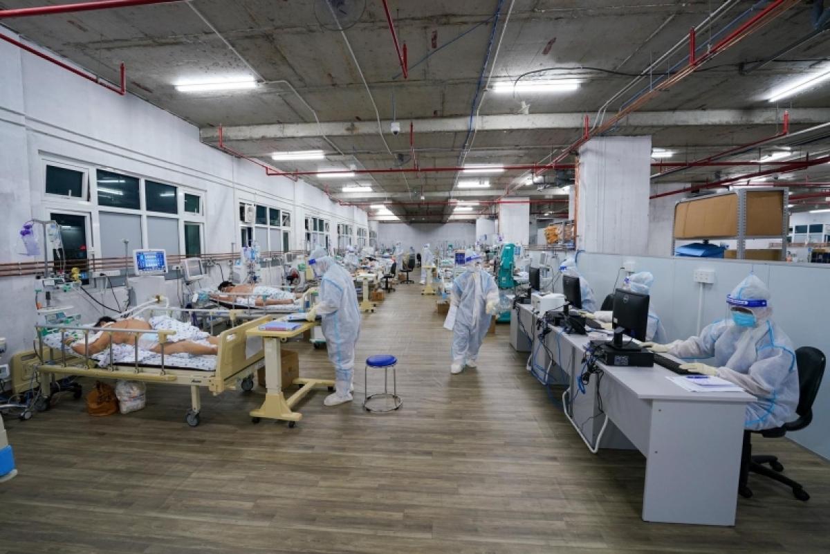 Trung tâm này đã điều trị khỏi, cho xuất viện hơn 200 trường hợp (Ảnh: Bệnh viện Đại học Y Dược TP.HCM)