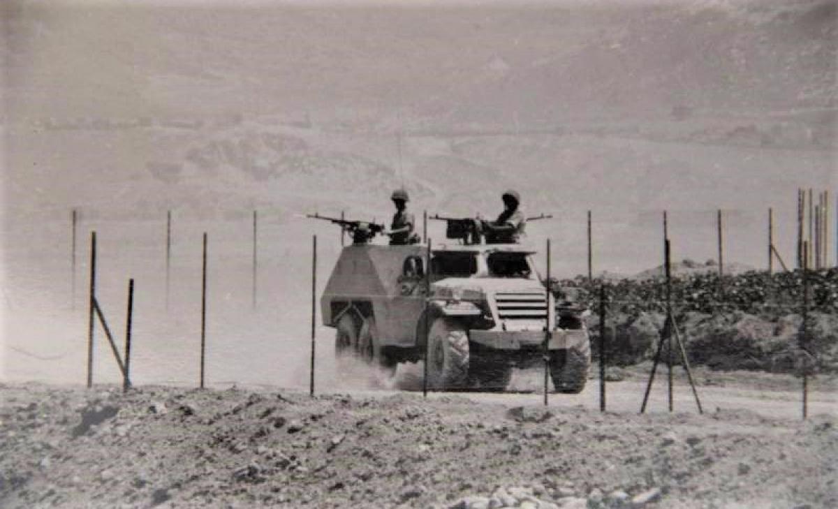 Xe bọc théo BTR-152 – chiến lợi phẩm của Israel; Nguồn: topwar.ru.