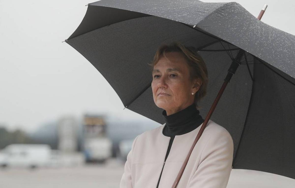 Đại sứ Đức tại Ucraine Anka Feldgusen. (Ảnh: EPA-EFE)