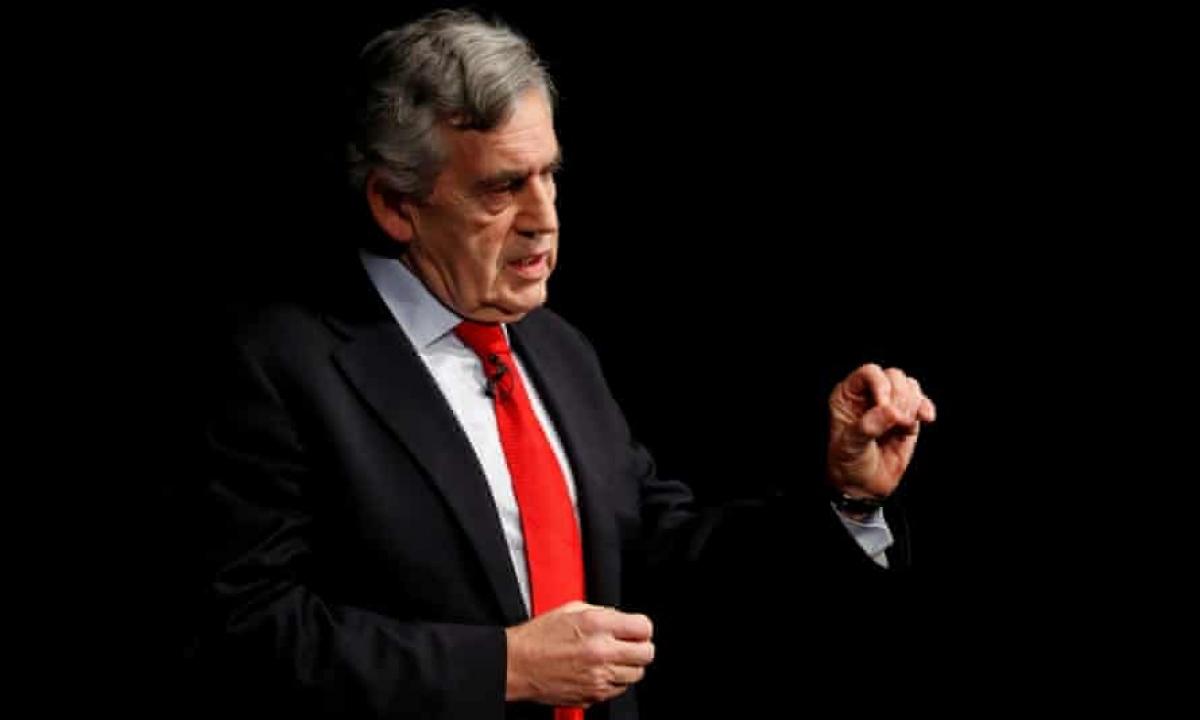 Cựu Thủ tướng Anh Gordon Brown. Ảnh: Reuters