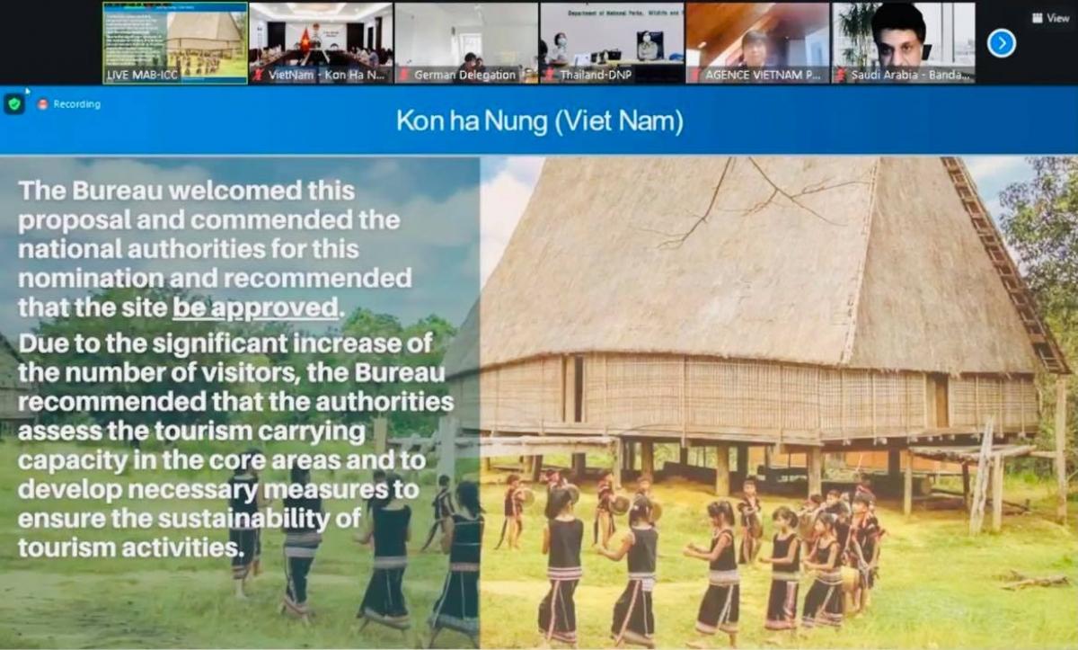 Hội đồng điều phối phê duyệt công nhận cao nguyên Kon Hà Nừng