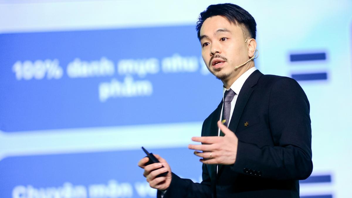Ông Danny Le - Tổng giám đốc Masan Group.
