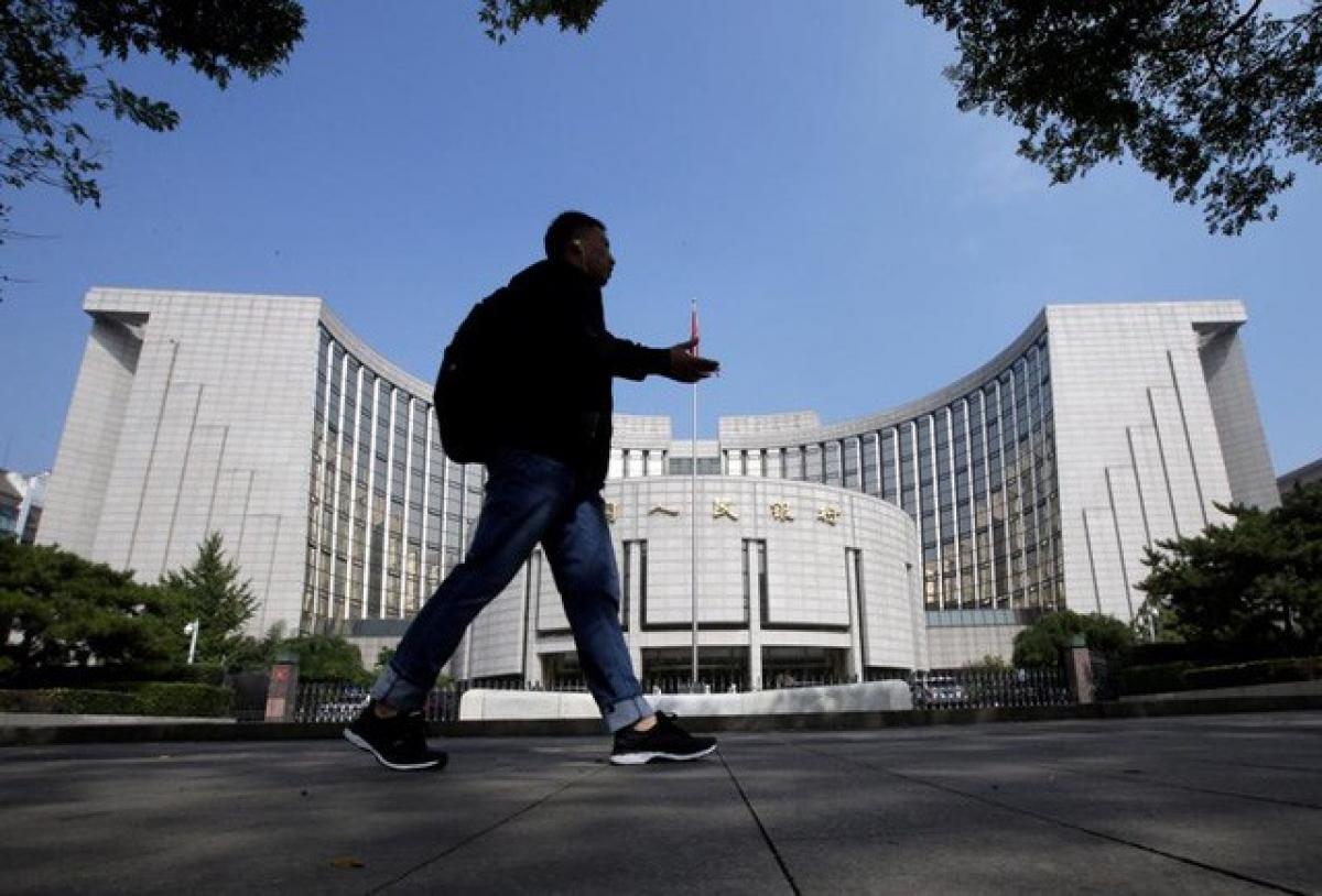 Trụ sở Ngân hàng Trung ương Trung Quốc (PBoC) ở Bắc Kinh. (Ảnh: Reuters)
