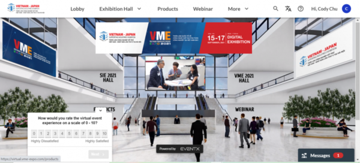 The SIE and VME will run online until September 17 via VME website (www.vme-expo.com). (Photo: organising board)