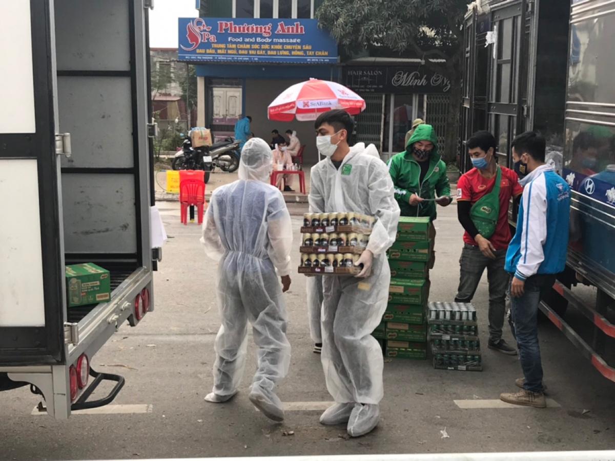 Nestlé bàn giao sản phẩm tại TP. Chí Linh, huyện Chí Linh.