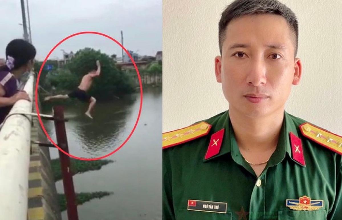 Thượng úy QNCN Ngô Văn Thứ.