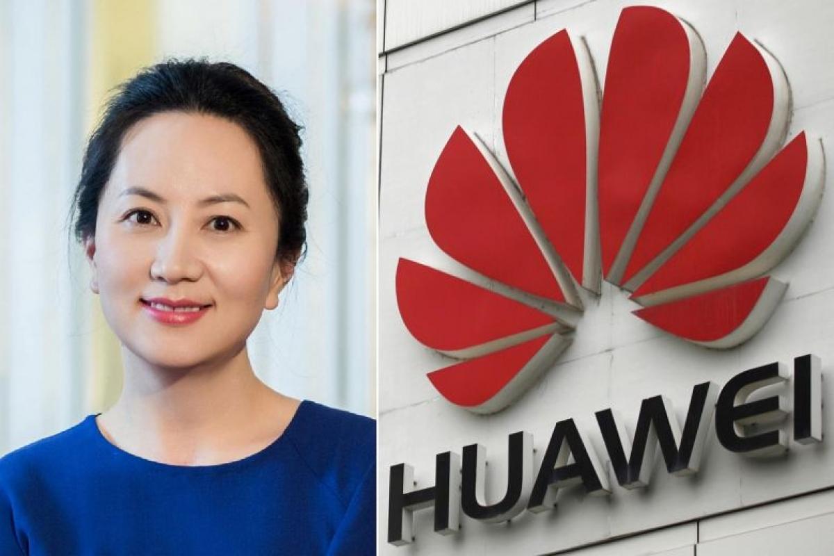 Bà Mạnh Vãn Chu - Giám đốc tài chính tập đoàn Huawei (Ảnh: KT)