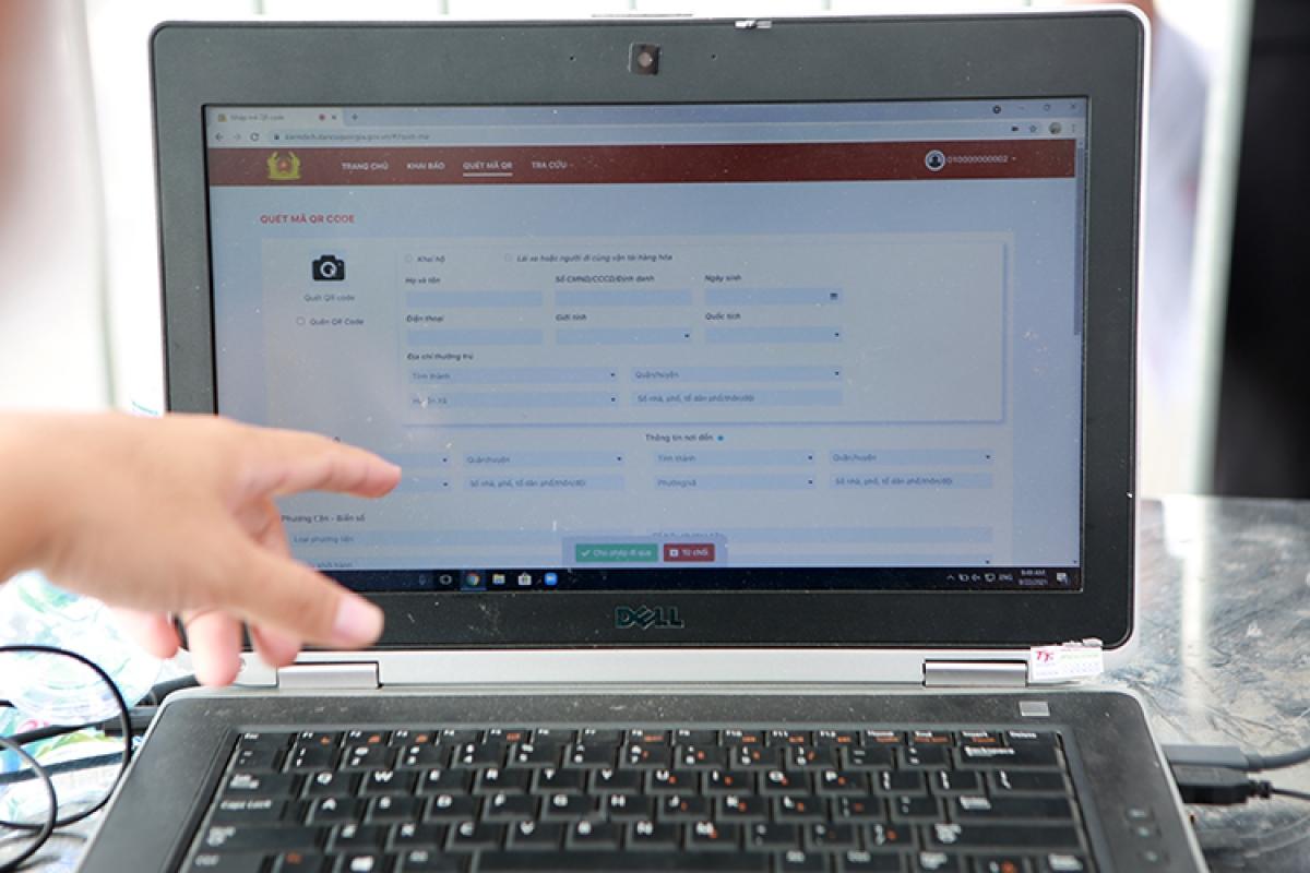 Mọi thông tin y tế cá nhân được lưu lại trên hệ thống kiemdich.dancuquocgia.gov.vn