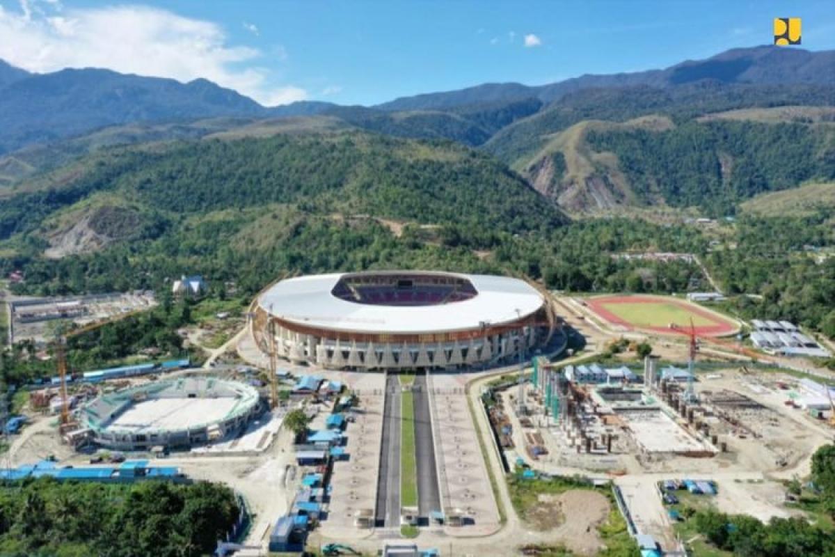 Khẩn trương hoàn thiện khu phức hợp thể thao tại Papua. Nguồn : Kompas