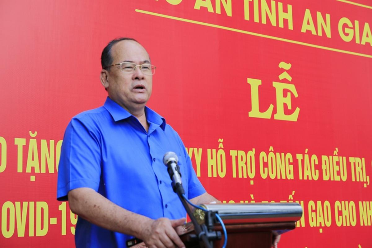 Ông Nguyễn Thanh Bình, Chủ tịch UBND An Giang.