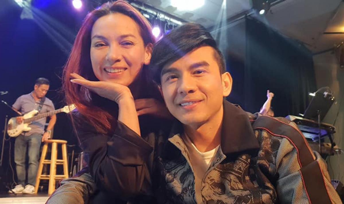 Phi Nhung và ca sĩ Đan Trường.