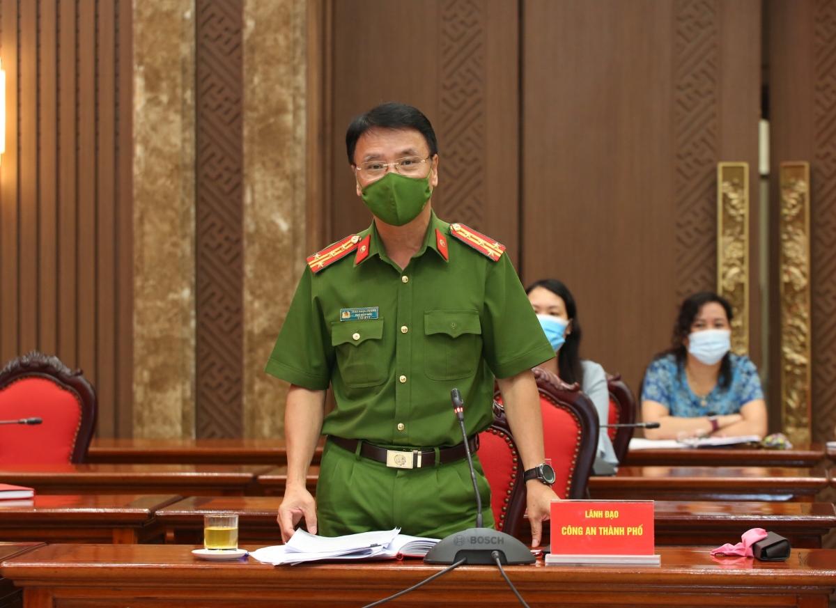 Đại tá Trần Ngọc Dương, Phó Giám đốc Công an TP Hà Nội.