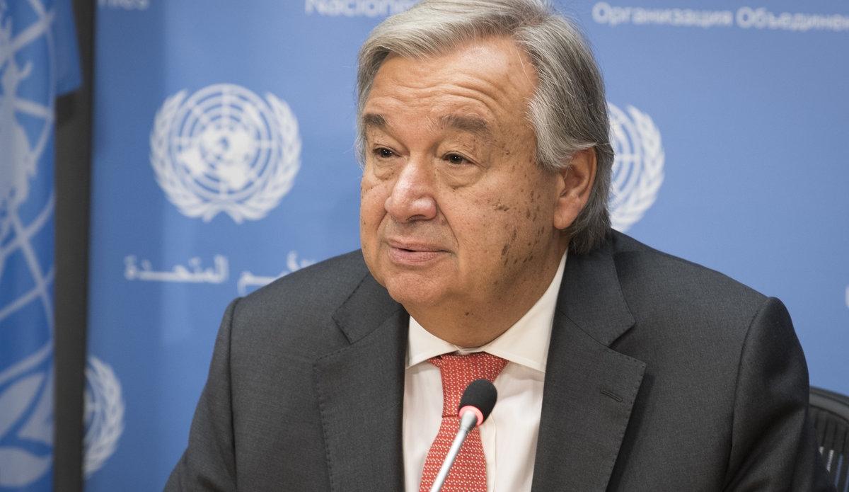 Tổng thư ký Liên Hợp Quốc Antonio Guteres. Ảnh: unmil.unmissions.org
