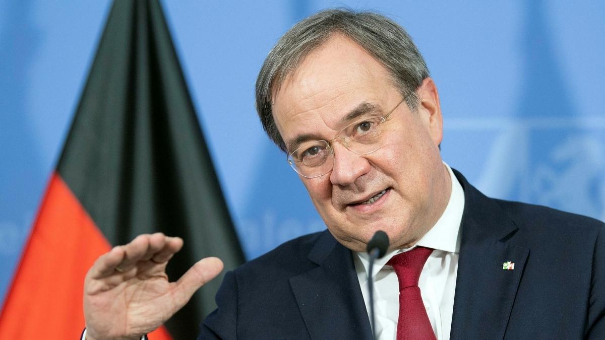 Nhà lãnh đạo đảng CDU Armin Laschet. Ảnh: AFP