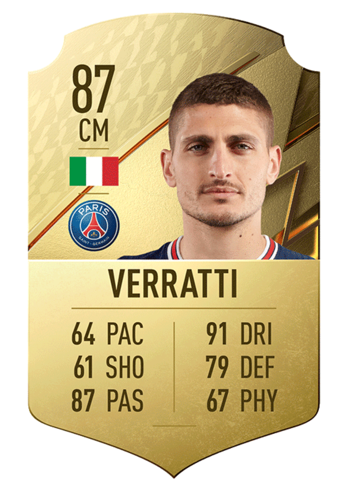 9. Marco Verratti   Paris Saint-Germain   Tiền vệ   Chỉ số chuyền bóng 87