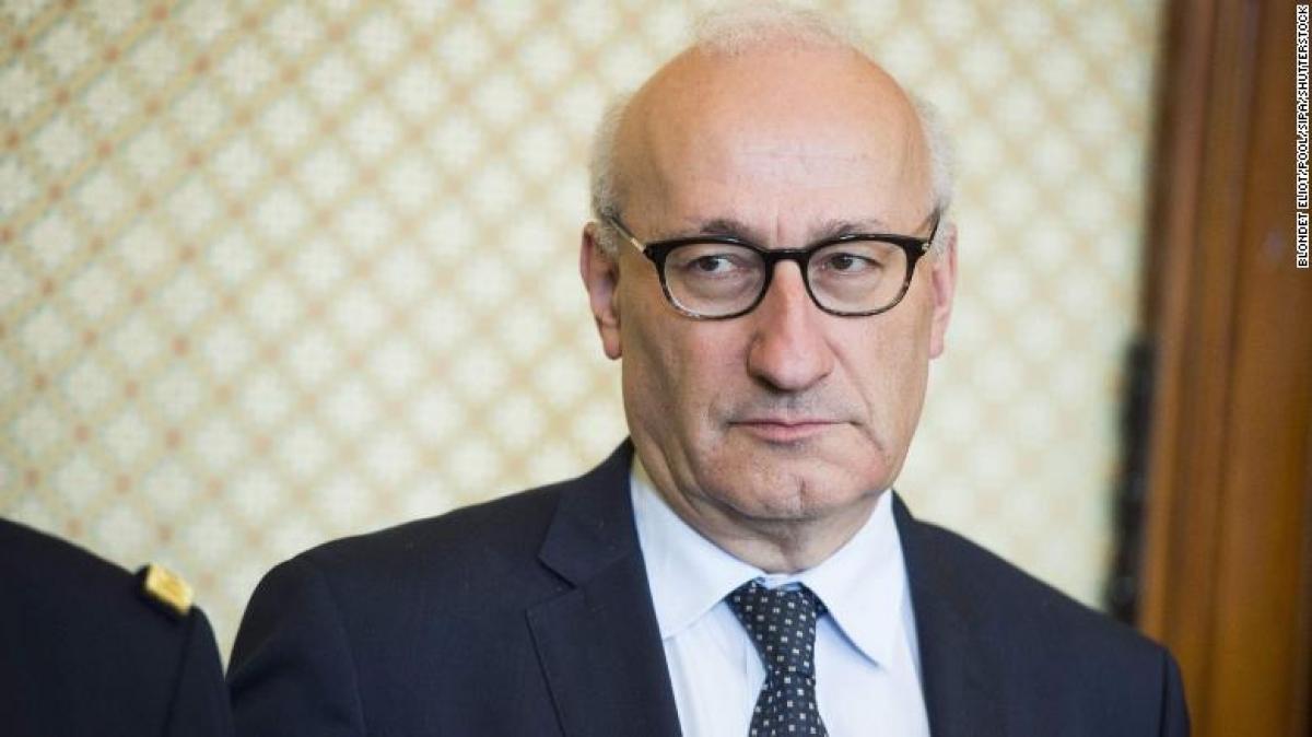 Đại sứ Pháp tại Mỹ Philippe Etienne. Ảnh: CNN
