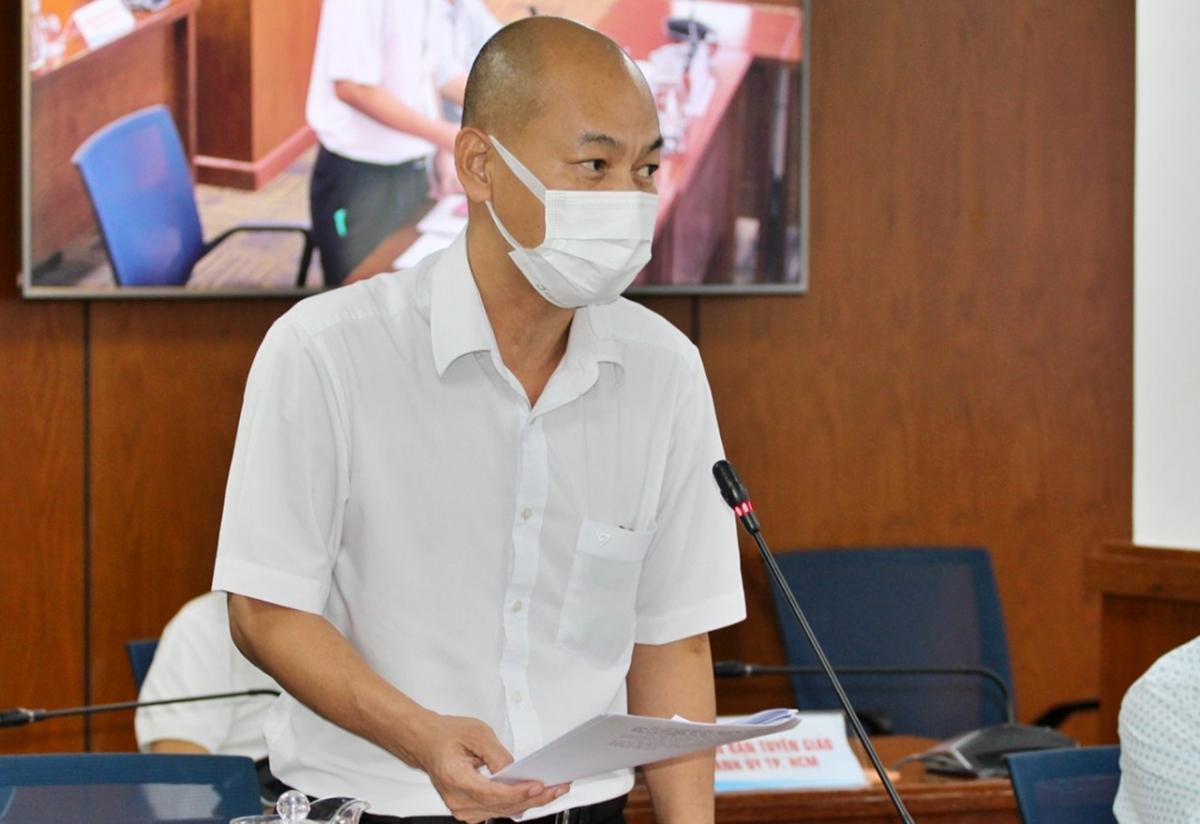 Phó Giám đốc Sở Công thương TP Nguyễn Nguyên Phương (ảnh Hà An)